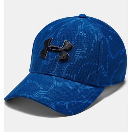 Gorra de Ajuste Elástico Estampada UA Printed Blitzing para Hombre-Deportes y futbol-Gorras & Más Hombres