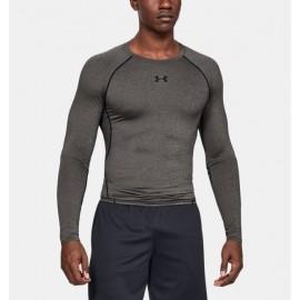 Camiseta de Compresión Manga Larga UA HeatGear® Armour para Hombre-Deportes y futbol-Compresión para Hombre