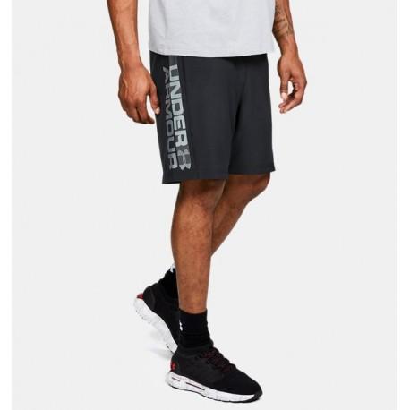 Shorts UA Woven con el Gráfico del Logotipo de la Marca para Hombre-Deportes y futbol-Bottoms Hombres