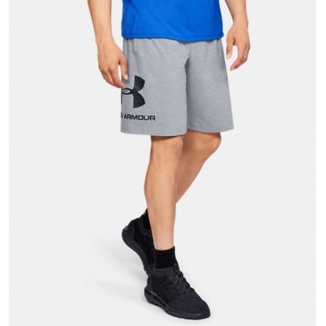 Shorts UA Sportstyle Cotton Graphic para Hombre-Deportes y futbol-Bottoms Hombres