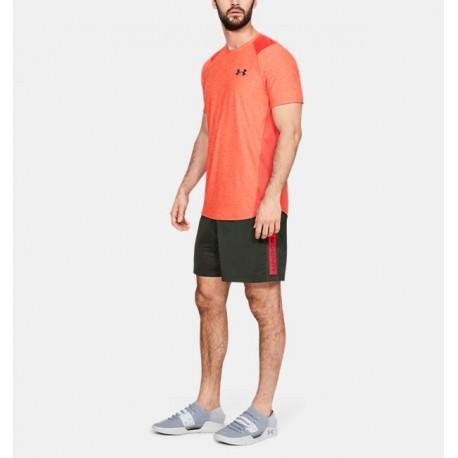 Shorts de 18cm con Nombre de la Marca UA MK-1 para Hombre-Deportes y futbol-Bottoms Hombres