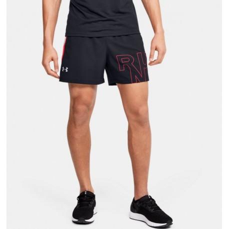 Men's UA Launch SW Branded 5'' Shorts-Deportes y futbol-Bottoms Hombres