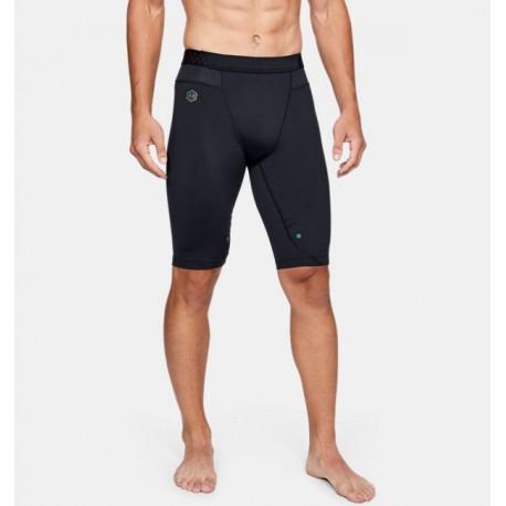 Shorts de Compresión Largos UA RUSH™ HeatGear® para Hombre-Deportes y futbol-Bottoms Hombres