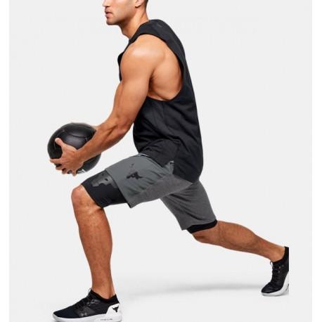 Men's Project Rock Shorts-Deportes y futbol-Bottoms Hombres