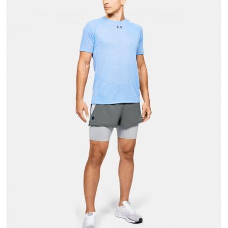 Men's UA RUSH™ Run 2-in-1 Shorts-Deportes y futbol-Bottoms Hombres