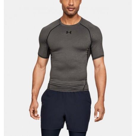 Camiseta de Compresión Manga Corta UA HeatGear® Armour para Hombre-Deportes y futbol-Fútbol Hombres