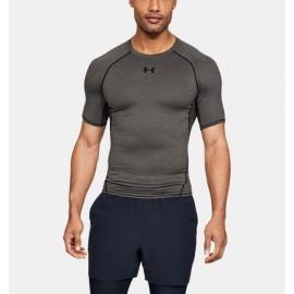 Camiseta de Compresión Manga Corta UA HeatGear® Armour para Hombre-Deportes y futbol-Training Hombres