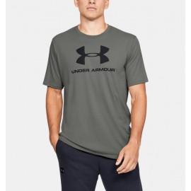 Playera de Manga Corta UA Sportstyle Logo para Hombre-Deportes y futbol-Playeras, Polos y Camisetas Hom