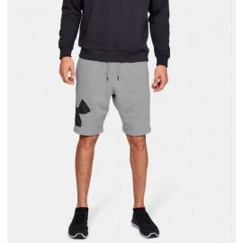 Shorts UA Rival Fleece Logo para Hombre-Deportes y futbol-Pantalones y Pants de Hombre