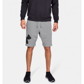 Shorts UA Rival Fleece Logo para Hombre-Deportes y futbol-Shorts de Hombre