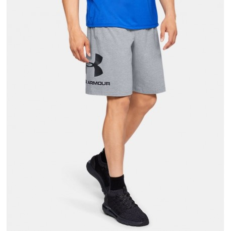 Shorts UA Sportstyle Cotton Graphic para Hombre-Deportes y futbol-Shorts de Hombre
