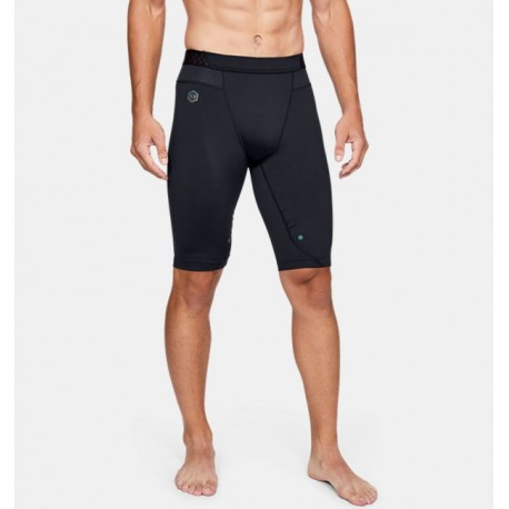 Shorts de Compresión Largos UA RUSH™ HeatGear® para Hombre-Deportes y futbol-Shorts de Hombre